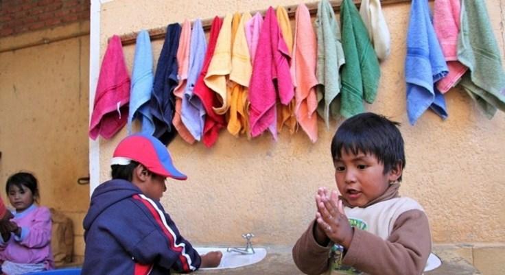 codigo salud online Solo el 27 por ciento de la población de los países menos adelantados tiene acceso a jabón y agua para lavarse las manos (3)