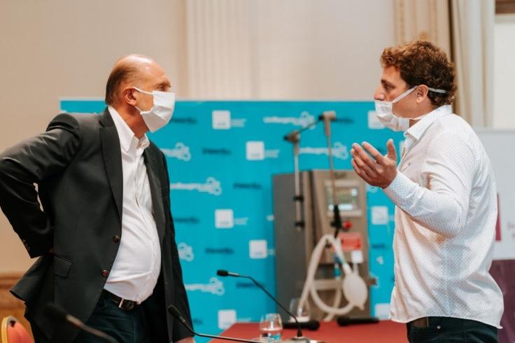 codigo salud online Un respirador íntegramente argentino para tratar afectados por el COVID19 (2)
